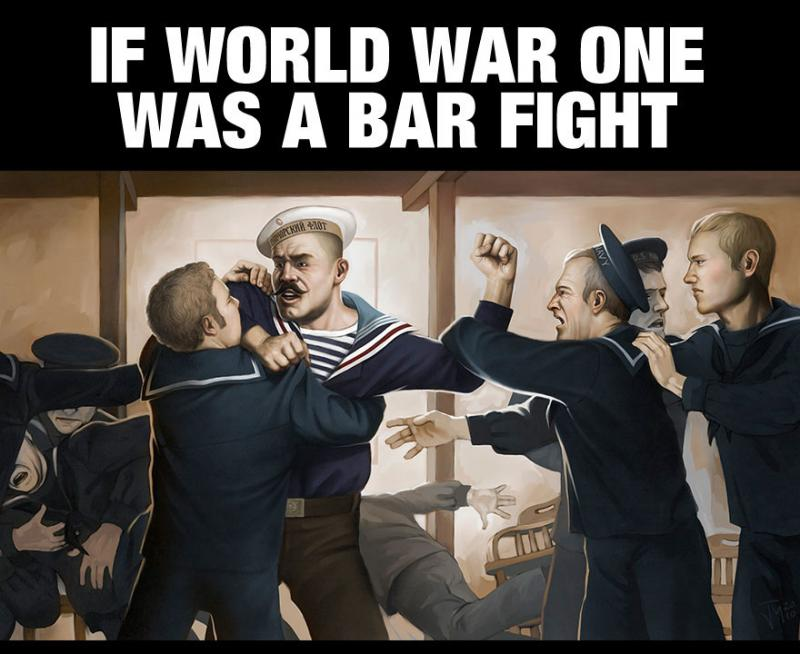 WWI Bar Fight - 01